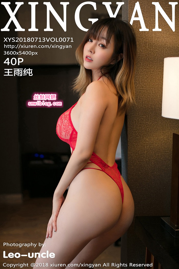 [XINGYAN星颜社]2018.07.13 VOL.071 王雨纯[40+1P/109M]
